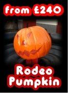 Hire Pumpkin Rodeo for Halloween